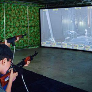 Trò chơi cảm giác mạnh Bắn súng Đầm Sen