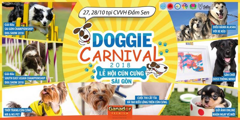 Banner Lễ hội cún cưng Sài Gòn 2018