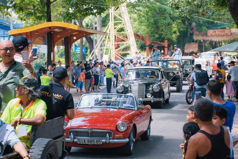 lễ hội xe cổ lần 2