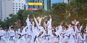 Festival võ nhạc, thể dục Aerobic học sinh lần I
