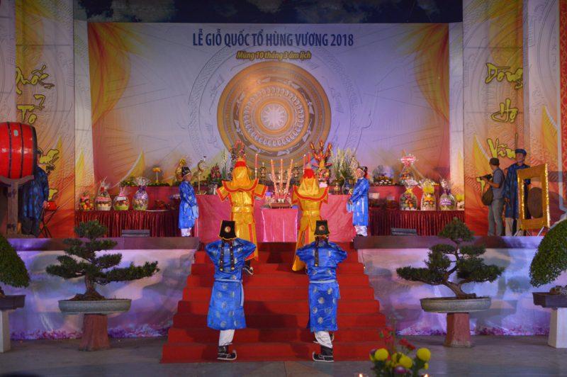 giỗ tổ Hùng Vương 2018 tại Đầm Sen
