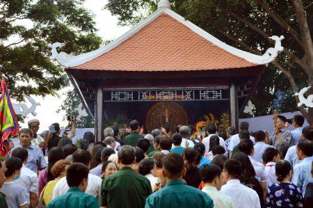 Quảng trường vua Hùng