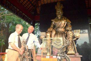 Sắp ra mắt Quảng trường Vua Hùng tại Đầm Sen