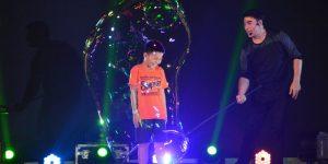 Gazillion Bubble Show của Fan Yang tại Đầm Sen