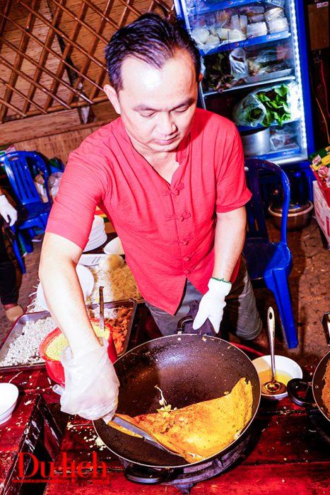 Bánh xèo Nam bộ trong liên hoan ẩm thực