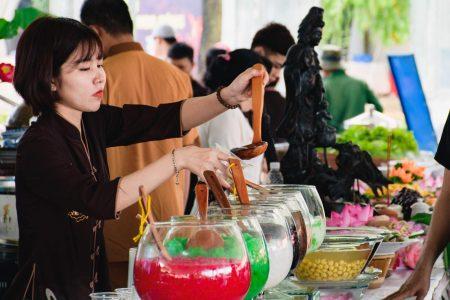 """Ngày hội ẩm thực chay 2019 Đầm Sen: """"Vu Lan báo hiếu"""""""