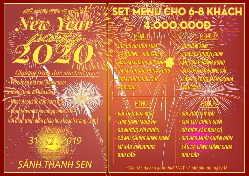 Countdown 2020: Xem pháo hoa tuyệt đẹp từ Thủy Tạ Đầm Sen 6