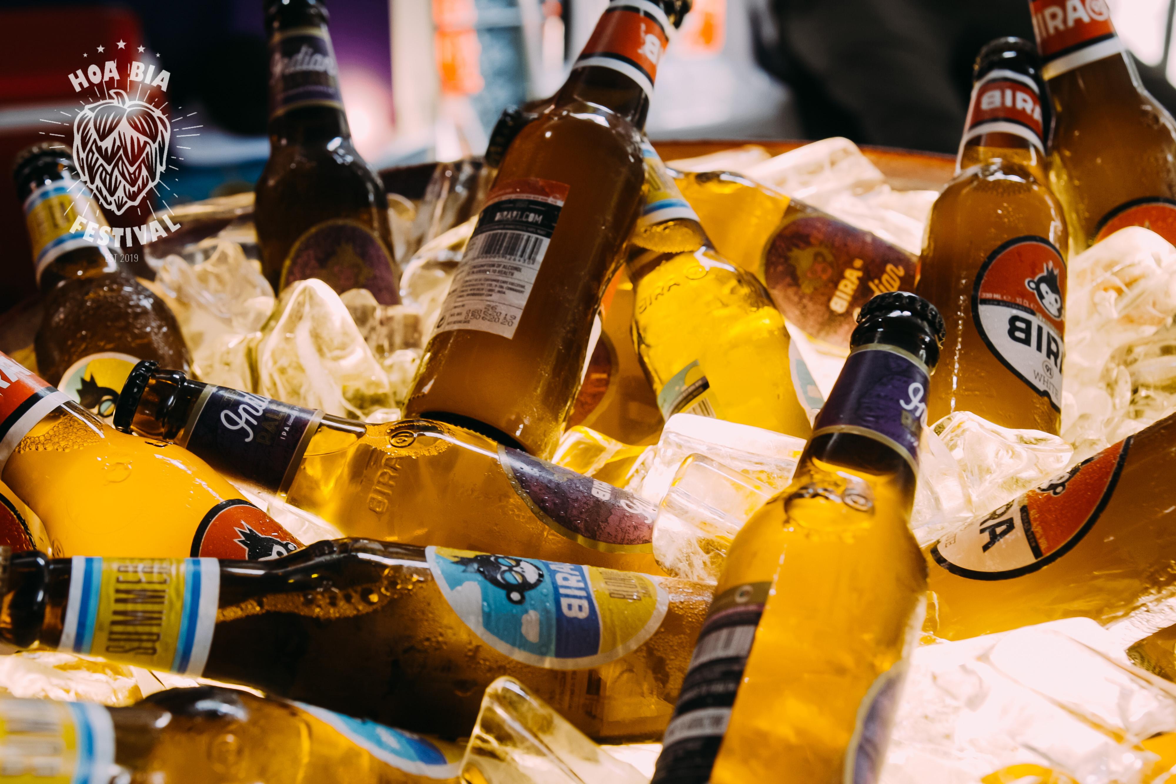 beer thủ công đóng chai - lễ hội hoa bia thủ công