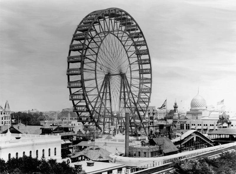 Đu quay đứng Ferris wheel đầu tiên
