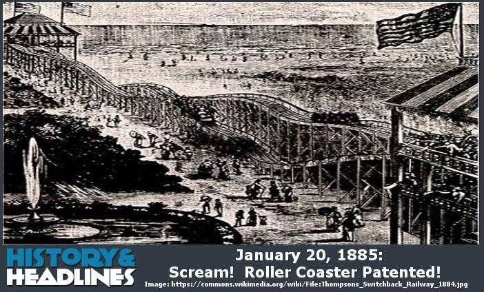 roller coaster đầu tiên