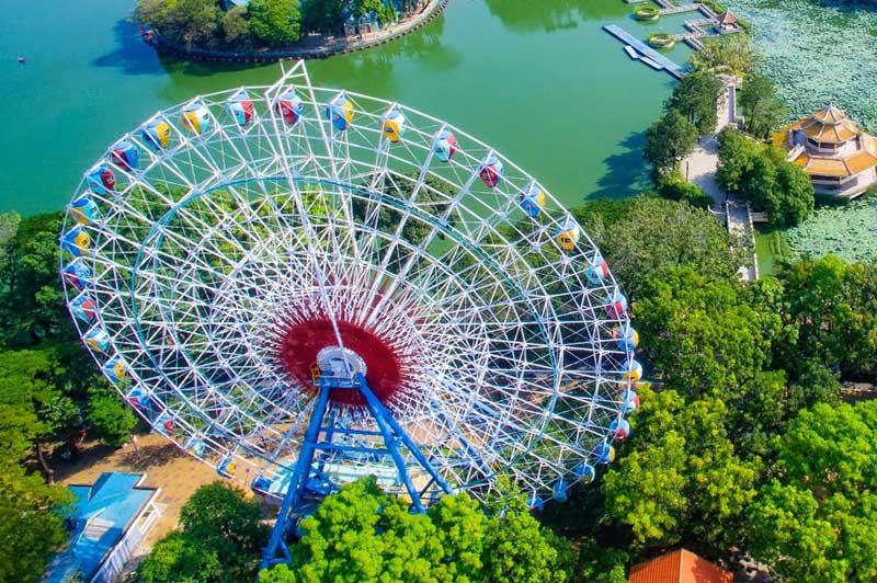 đu quay đứng Ferris wheel
