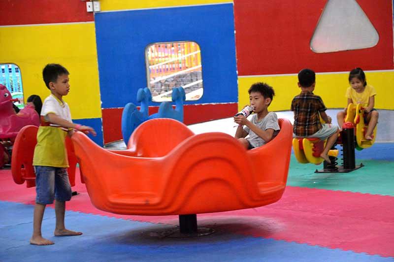 khu trò chơi kids playground