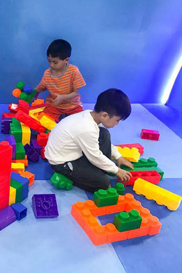 lâu đài kỳ thú khu Kids
