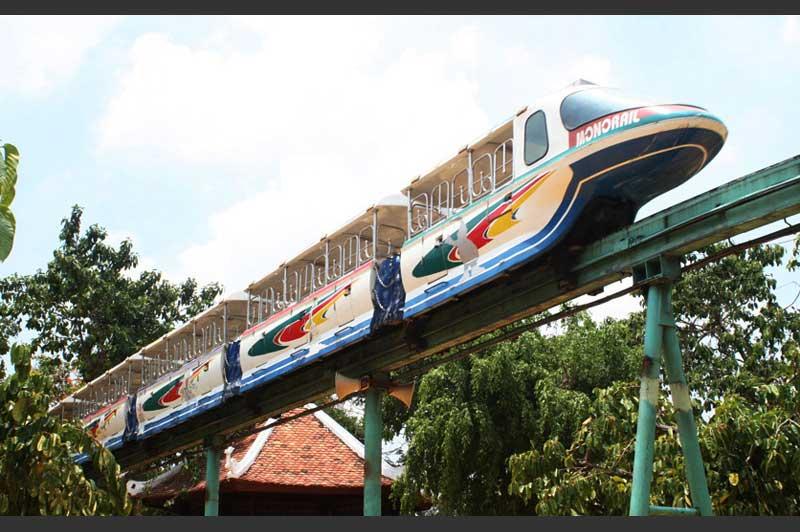 Tàu điện trên không monorail