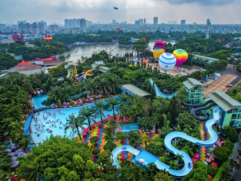 Ra mắt vé Đầm Sen Special chơi cả 2 công viên