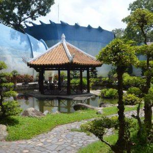 vườn hoa Nhật Bản CVVH Đầm Sen